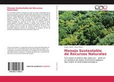 Capa do livro de Manejo Sustentable de Recursos Naturales
