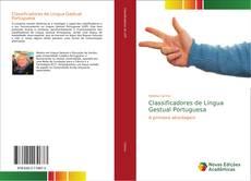 Capa do livro de Classificadores de Língua Gestual Portuguesa