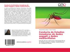 Copertina di Conducta de Estadios inmaduros de Aedes aegypti y Aedes mediovittatus