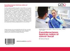 Borítókép a  Consideraciones teóricas sobre el cáncer bucal - hoz