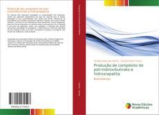 Capa do livro de Preparação de Compósitos a partir de Polihidroxibutirato e Hidroxiapatita