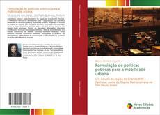 Buchcover von Formulação de políticas públicas para a mobilidade urbana
