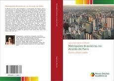Capa do livro de Metrópoles Brasileiras no Acordo de Paris