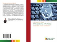 Bookcover of Meio ambiente informático