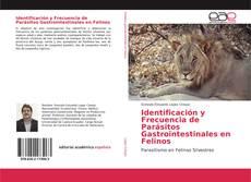 Capa do livro de Identificación y Frecuencia de Parásitos Gastrointestinales en Felinos