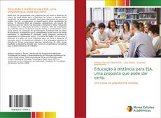 Bookcover of Educação à distância para EJA, uma proposta que pode dar certo.
