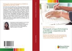 Capa do livro de Português Língua Estrangeira a Distância: experiência do Celin-UFPR