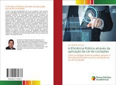 Обложка A Eficiência Pública através da aplicação da Lei de Licitações