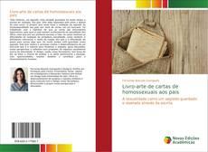Capa do livro de Livro-arte de cartas de homossexuais aos pais