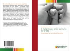 Capa do livro de A maternidade entre os muros da prisão