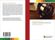 Estado e Constitucionalismo kitap kapağı