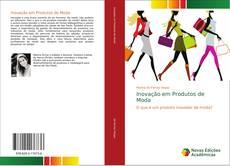 Capa do livro de Inovação em Produtos de Moda