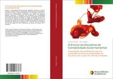 Buchcover von O Ensino da Disciplina de Contabilidade Governamental: