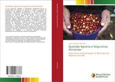 Capa do livro de Questão Agrária e Segurança Alimentar