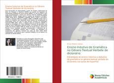 Capa do livro de Ensino Indutivo de Gramática no Gênero Textual Verbete de dicionário