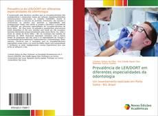 Buchcover von Prevalência de LER/DORT em diferentes especialidades da odontologia