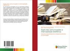 Bookcover of Sigilo das comunicações e interceptação telefônica