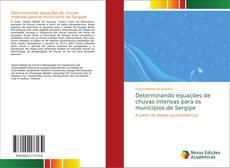 Portada del libro de Determinando equações de chuvas intensas para os municipios de Sergipe