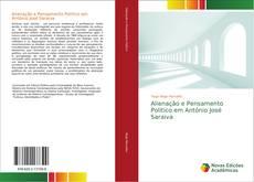Portada del libro de Alienação e Pensamento Político em António José Saraiva