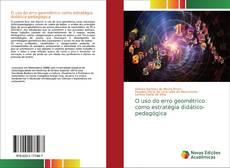 Buchcover von O uso do erro geométrico como estratégia didático-pedagógica