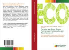 Capa do livro de Caracterização de Blocos Poliméricos Processados por Rotomoldagem