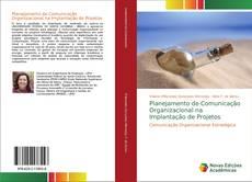 Capa do livro de Planejamento de Comunicação Organizacional na Implantação de Projetos