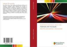 Capa do livro de Habitats de Inovação