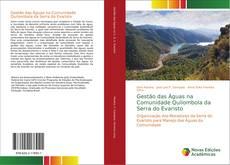 Bookcover of Gestão das Águas na Comunidade Quilombola da Serra do Evaristo
