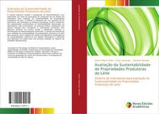 Capa do livro de Avaliação da Sustentabilidade de Propriedades Produtoras de Leite