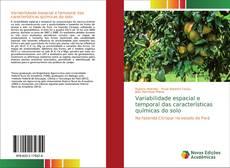 Capa do livro de Variabilidade espacial e temporal das características químicas do solo