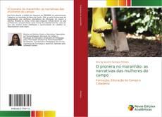 Capa do livro de O pronera no maranhão: as narrativas das mulheres do campo