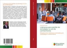 Capa do livro de Liderança para gestão da estratégia na era do conhecimento