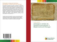 Portada del libro de Antologia e síntese da literatura portuguesa: o Modernismo em Portugal