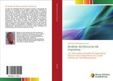 Capa do livro de Análise do Discurso da Imprensa