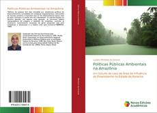 Capa do livro de Políticas Públicas Ambientais na Amazônia