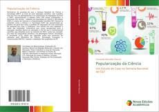 Buchcover von Popularização da Ciência