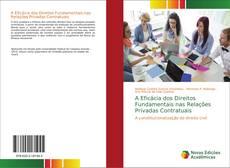 Buchcover von A Eficácia dos Direitos Fundamentais nas Relações Privadas Contratuais