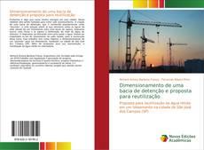 Capa do livro de Dimensionamento de uma bacia de detenção e proposta para reutilização
