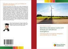 Capa do livro de Domótica de baixo custo com ênfase em eficiência energética