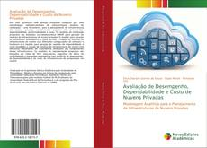 Capa do livro de Avaliação de Desempenho, Dependabilidade e Custo de Nuvens Privadas