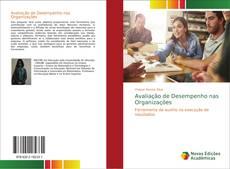 Capa do livro de Avaliação de Desempenho nas Organizações