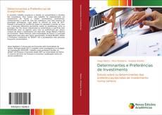 Capa do livro de Determinantes e Preferências de Investimento