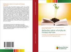 Bookcover of Reflexões sobre a função do Estágio Agrícola