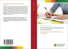Capa do livro de Competencias do docente do Ensino Clínico