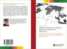 Bookcover of MFMEA: Análise dos Modos e Efeitos de Falhas em Máquinas