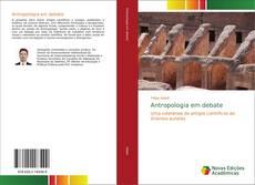 Copertina di Antropologia em debate
