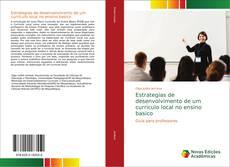 Capa do livro de Estrategias de desenvolvimento de um curriculo local no ensino basico