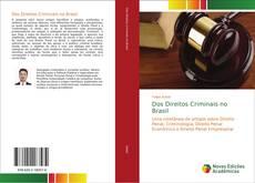 Buchcover von Dos Direitos Criminais no Brasil