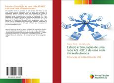 Capa do livro de Estudo e Simulação de uma rede AD HOC e de uma rede Infraestruturada