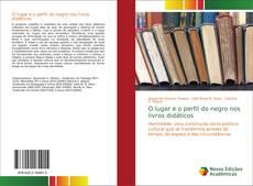 Portada del libro de O lugar e o perfil do negro nos livros didáticos